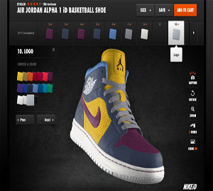 Design Custom Sports Shoes. NikeID2